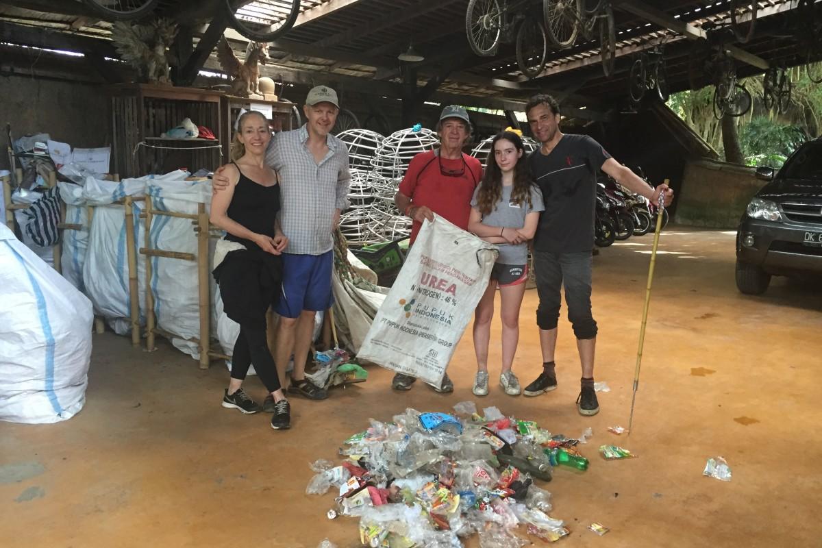 Spearing Garbage and Trash Walks