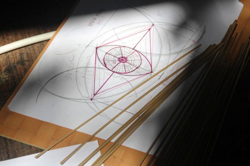 Bamboo U sketch