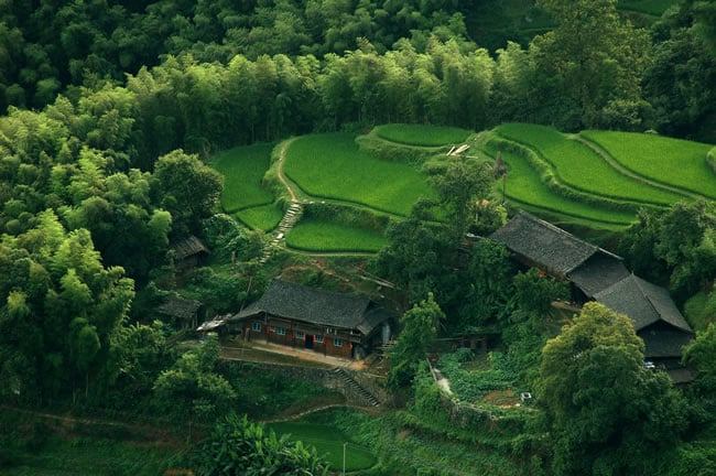 Incredible Chinese landscape