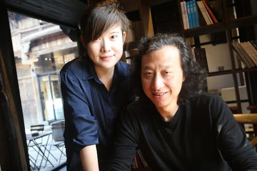 John's hosts in China