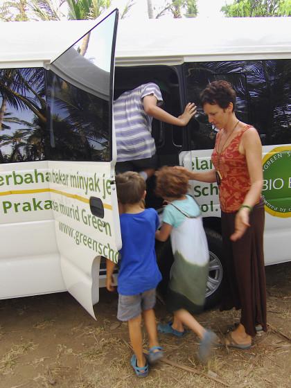 Bio Bus at Green School