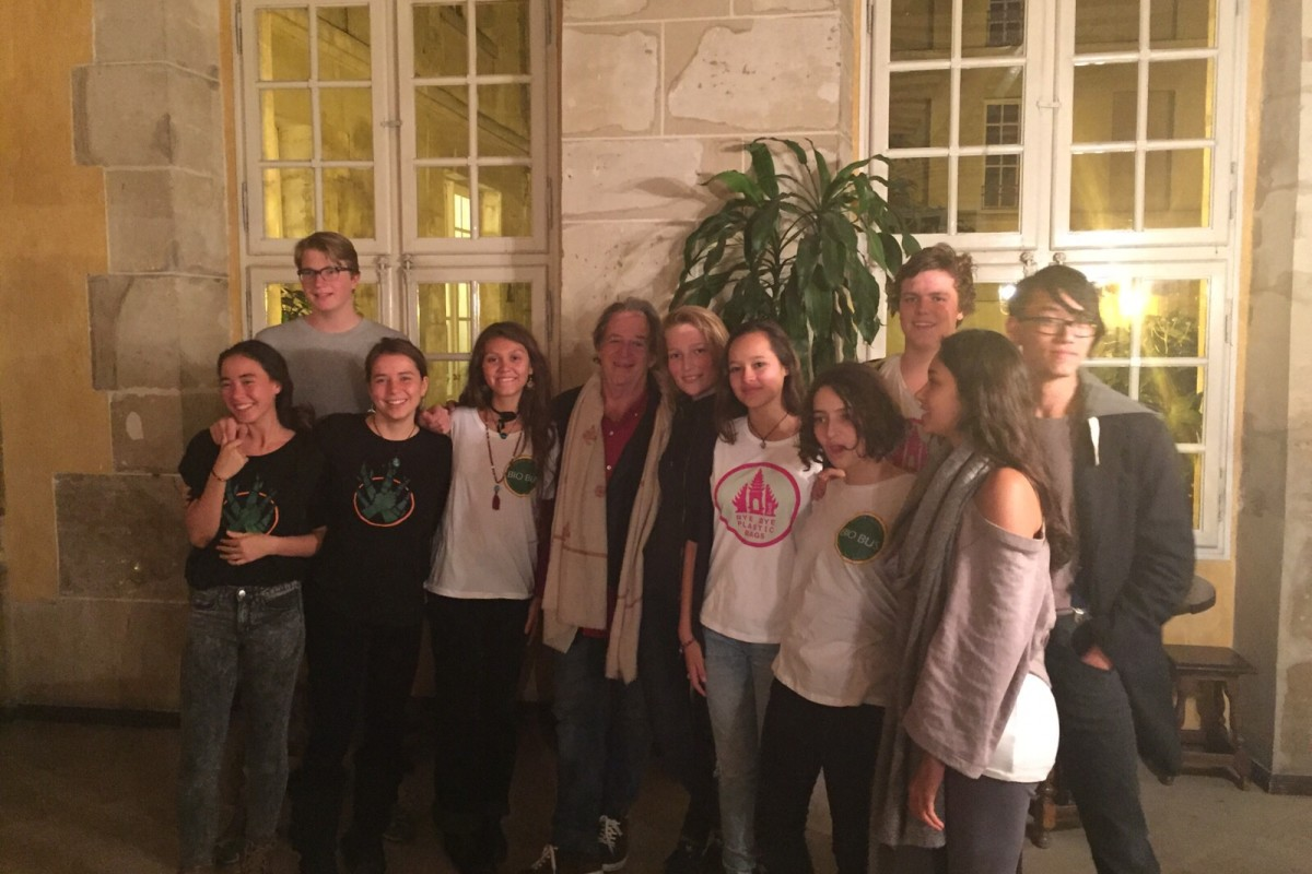 Green School team and John Hardy In Paris