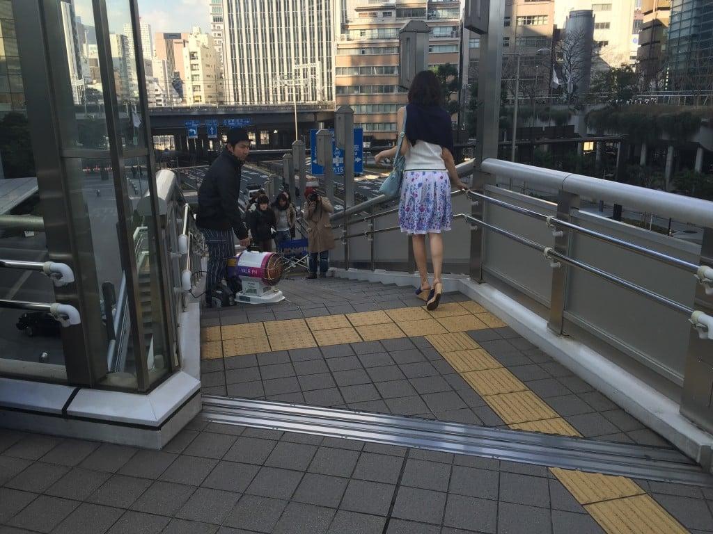 Tokyo winter fashion shoot