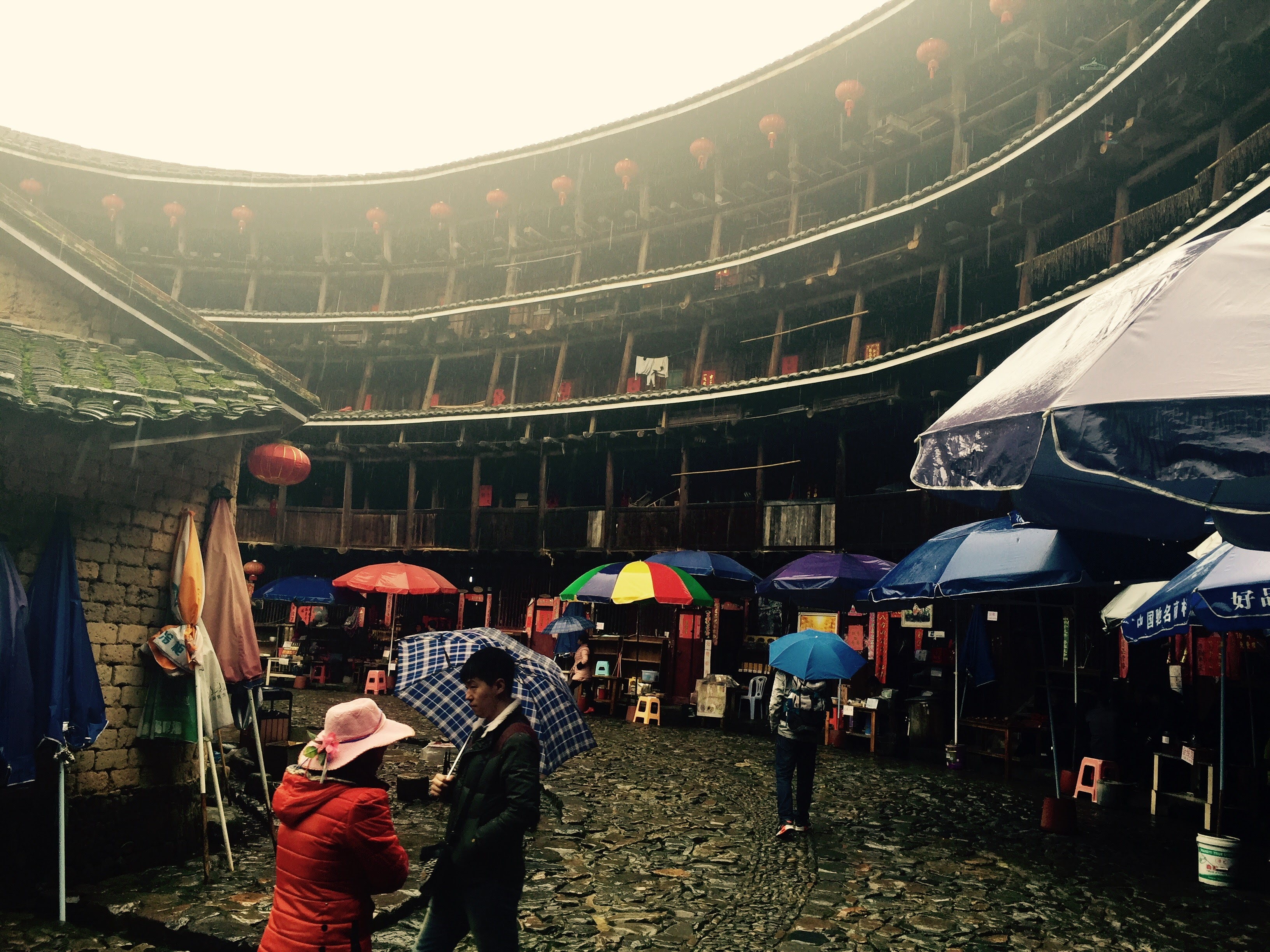 Inside the round clan houses of China