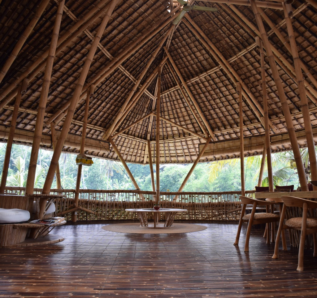 Read In Bali Bamboo Offers Model For Sustainable Future