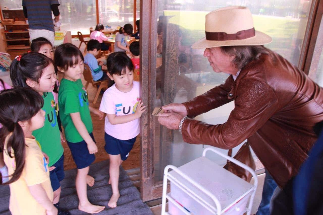 John Hardy at the Fuji School
