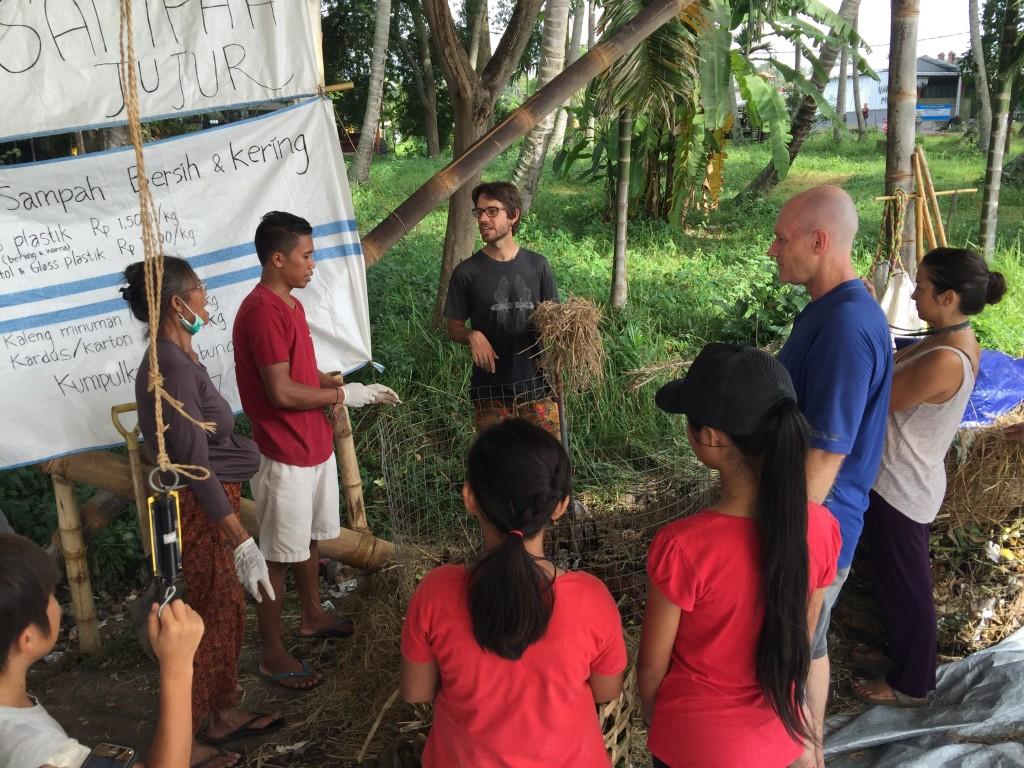 Compost workshop by Kul Kul Farn