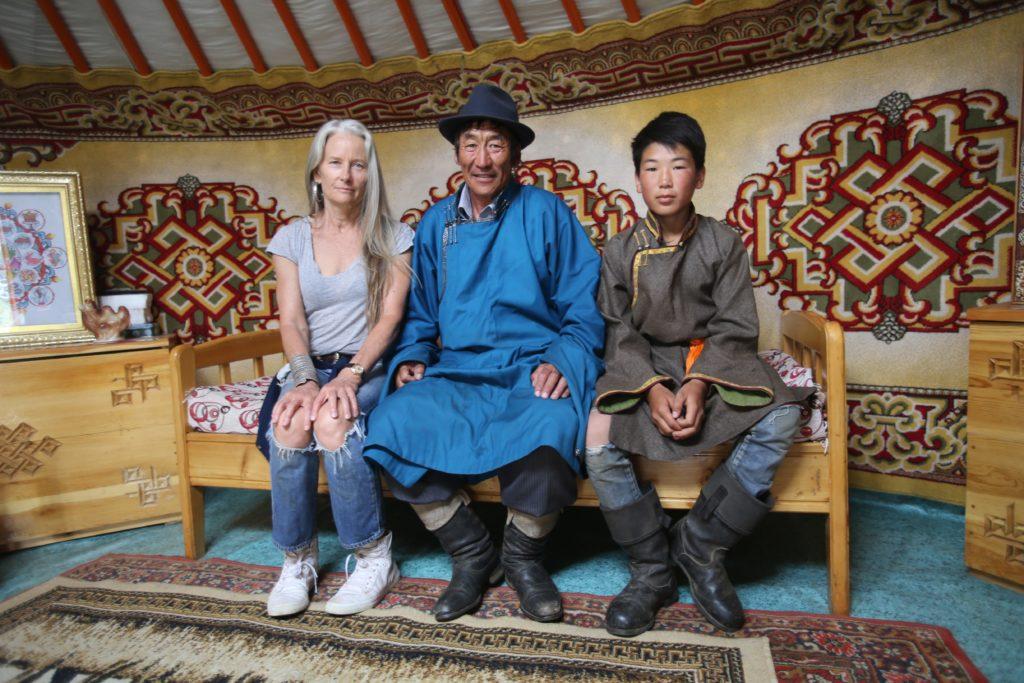 Cynthia Hardy in Mongolia