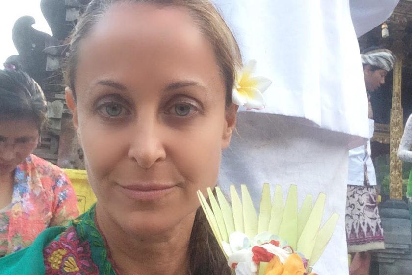 Marci Zaroff in Bali