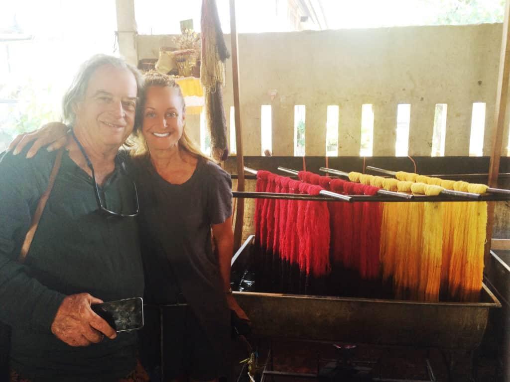 Marci Zaroff with John Hardy