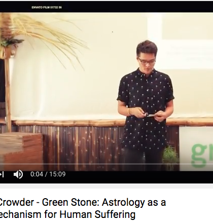 Green Stone talks