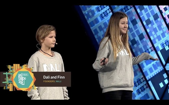 Dali and Finn from Nalu at INKTalks