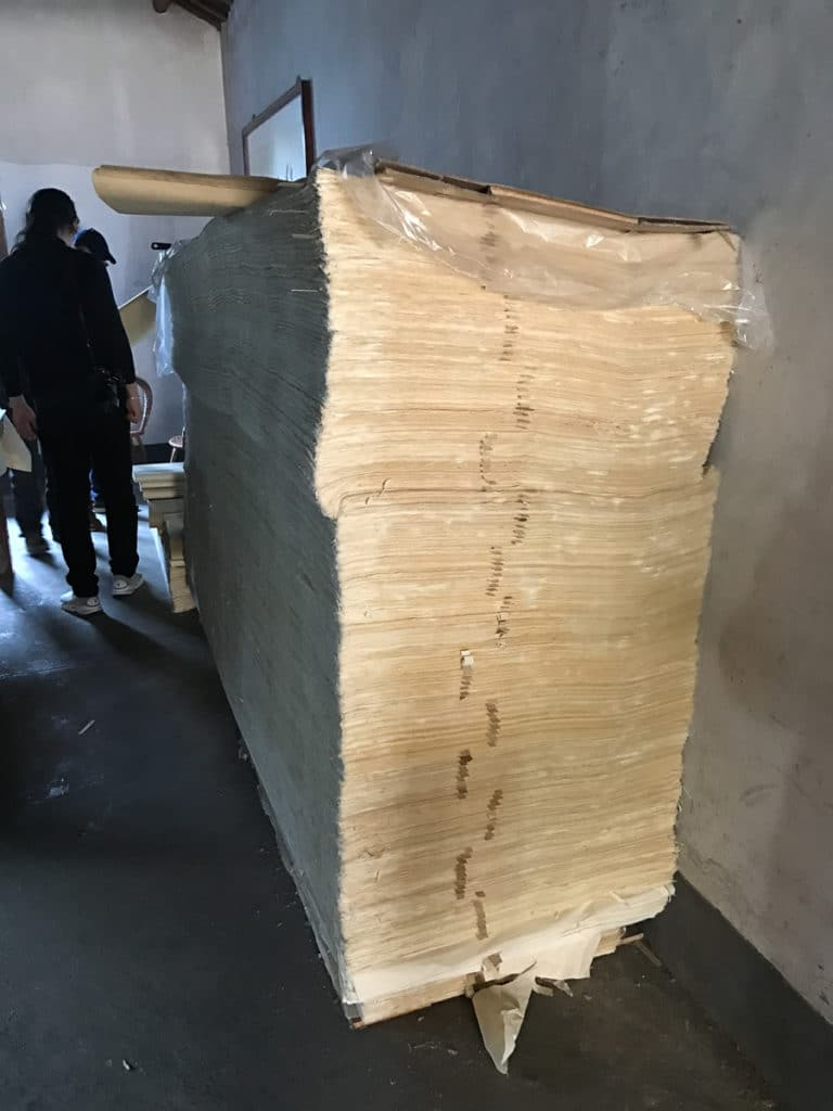 Bamboo paper from China