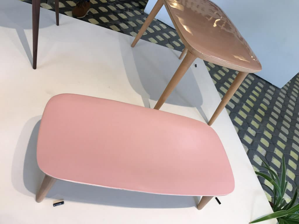 Ceramic table from the Design Library
