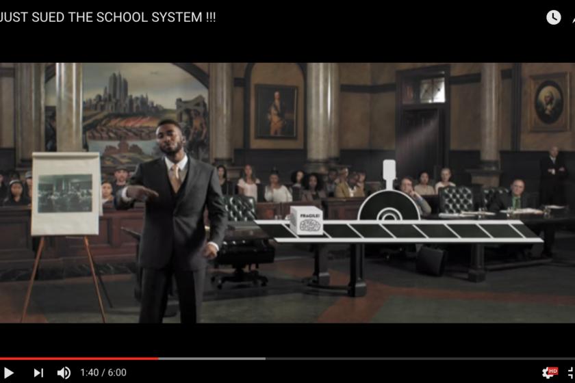 Prince Ea sues the school system