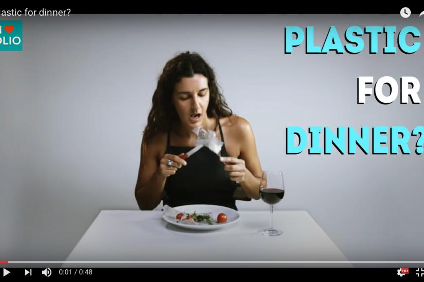 Plastic for dinner
