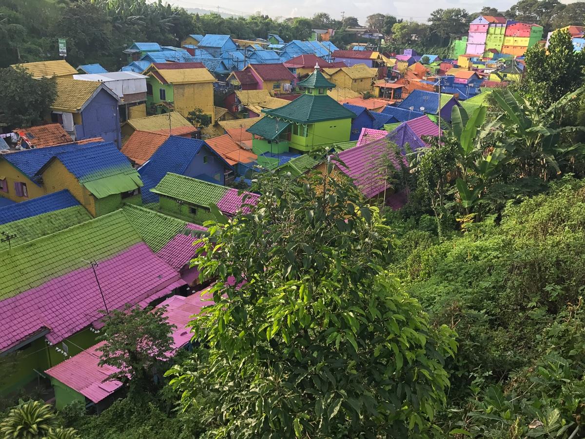 Kampung Warna Warni in Jodipan