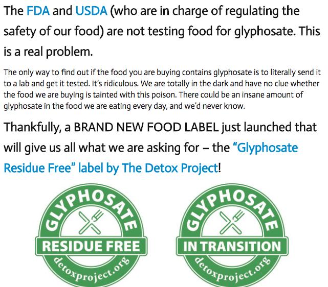 Monsanto on Food Babe Blog