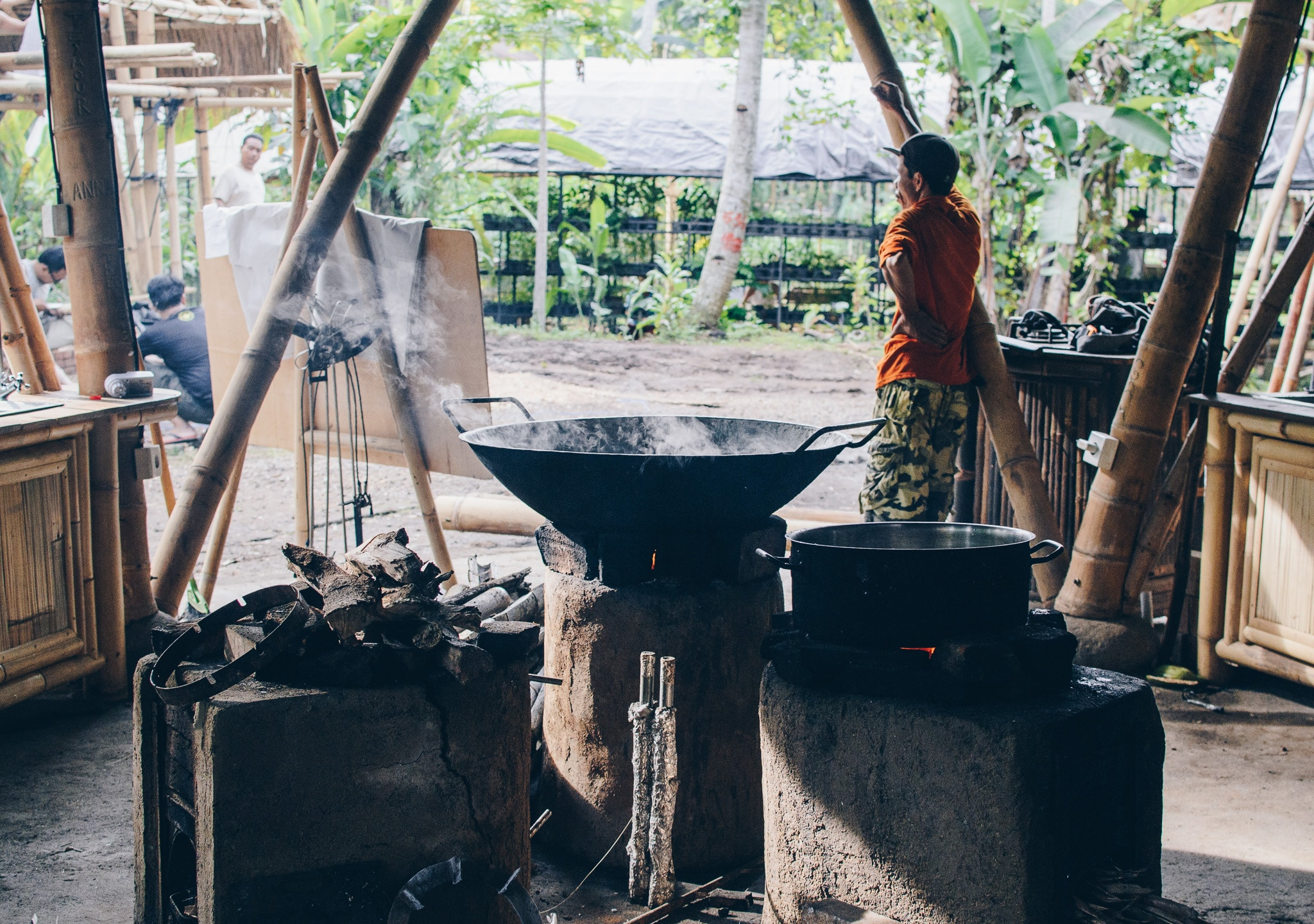 Cooking coconut sugar by Suzi Mifsud