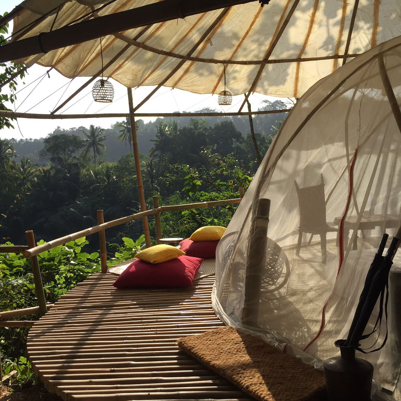 Eco camping in Bali
