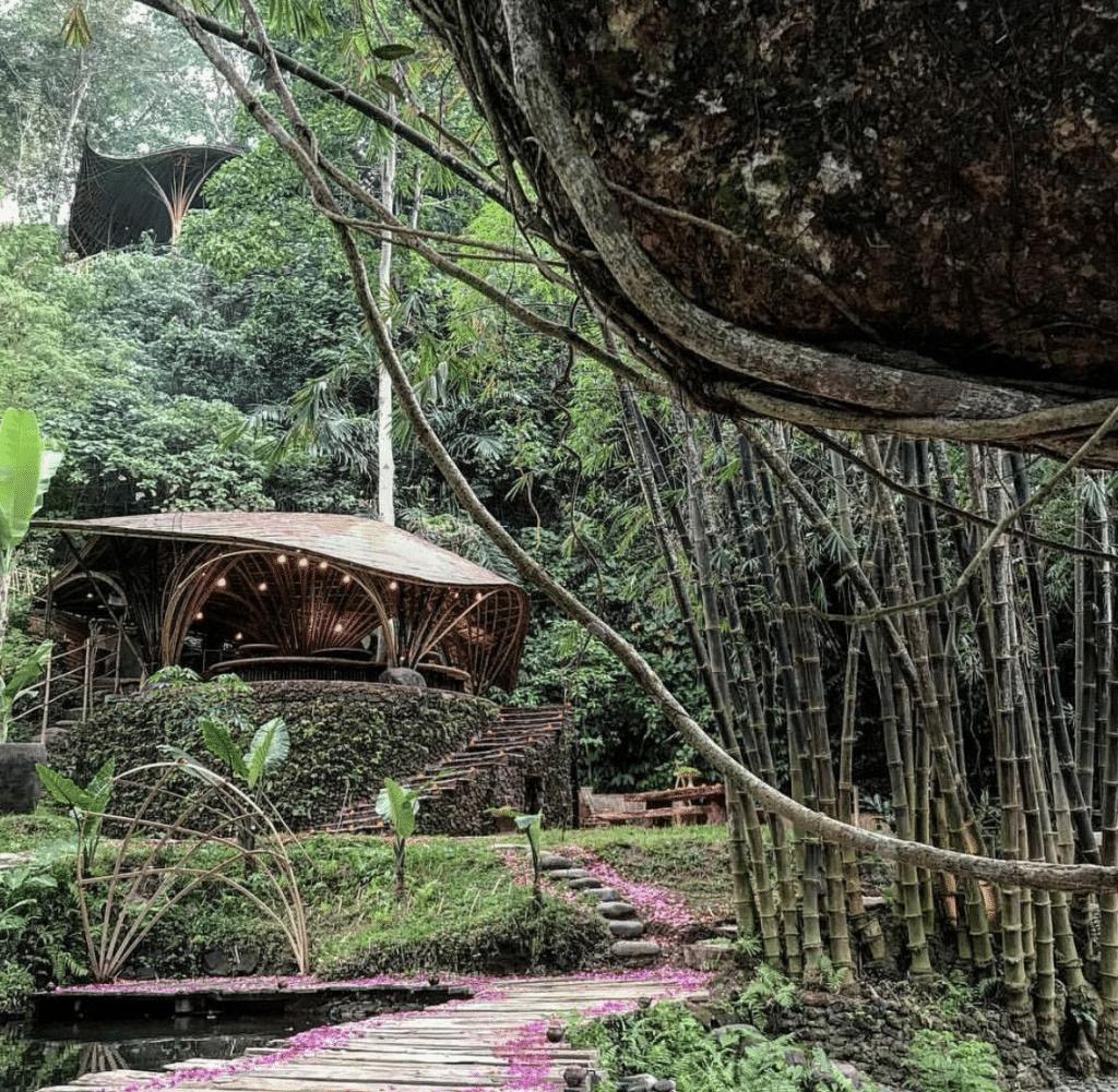 Bambu Indah Riverside Warung