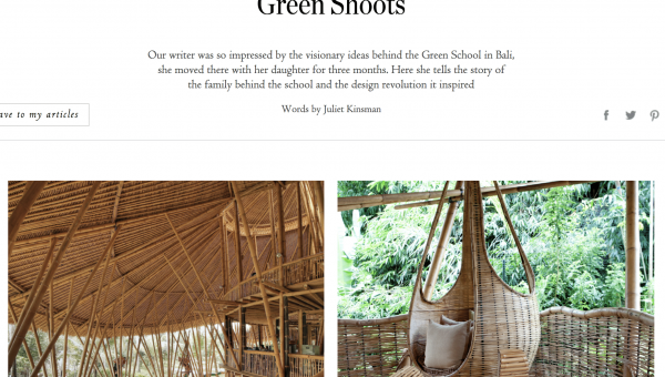 Green Shoots by Juliet Kinsman