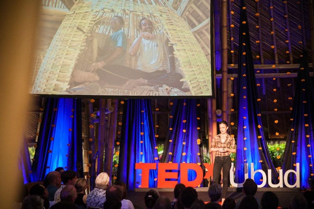 Elora Hardy by Heather Bonker at TEDxUbud