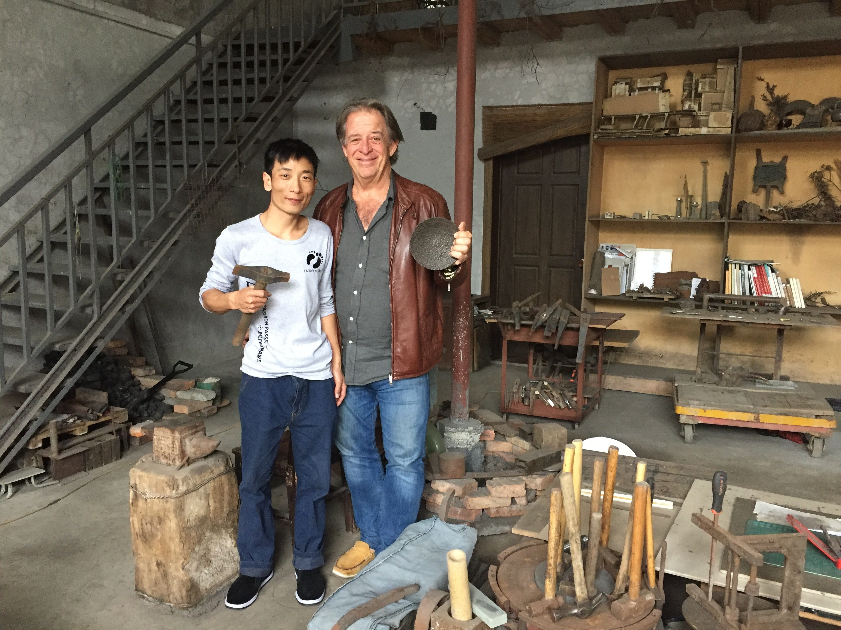 With the metal craftsman