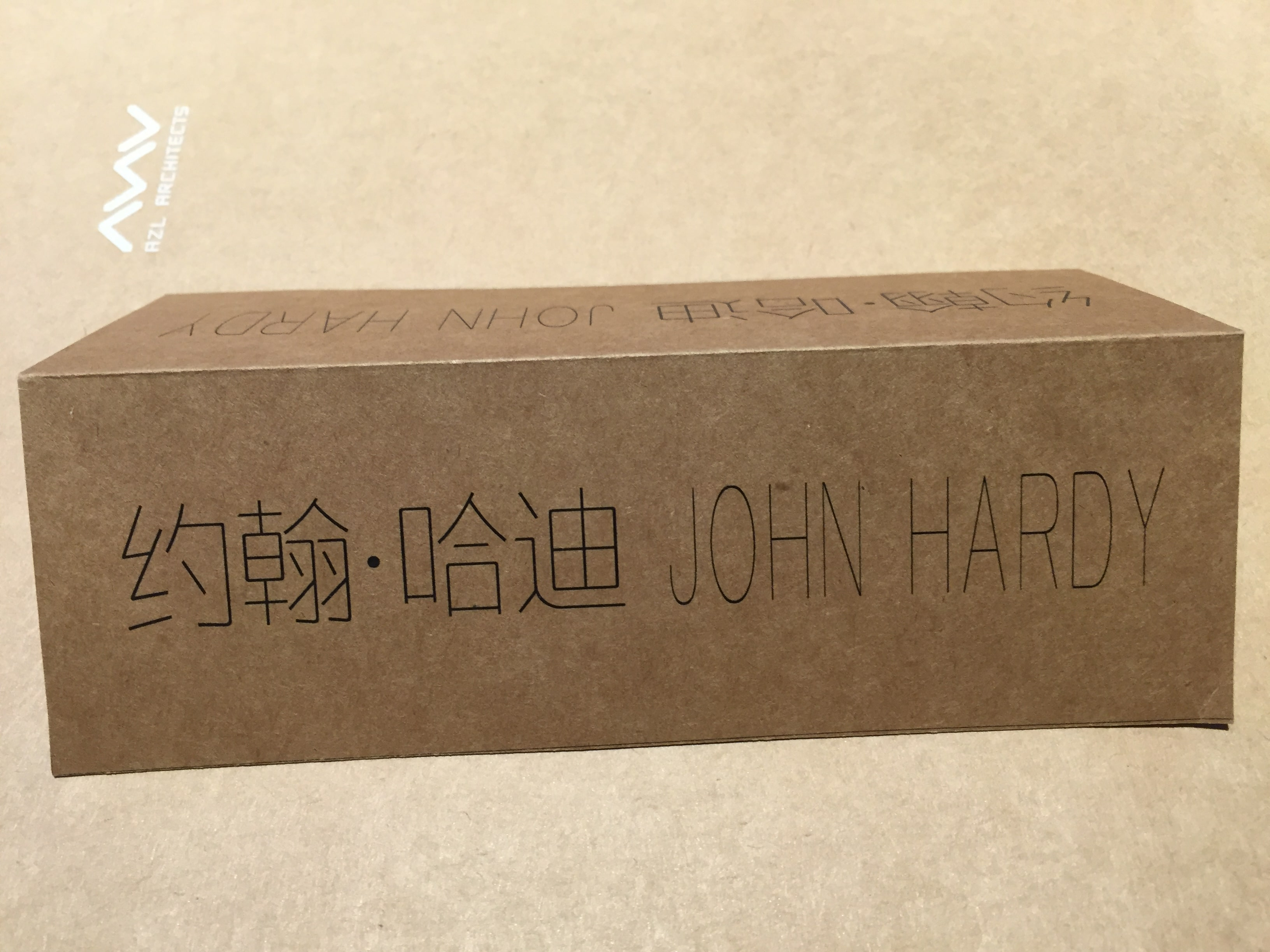 John Hardy in Chinese characters