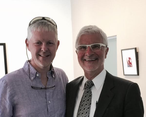Chris Saye and Dr Gundry