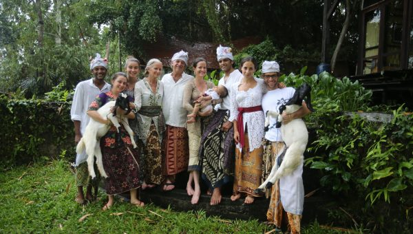 The Hardy Family in Bali