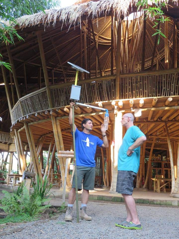 Illac Diaz at Green School Bali