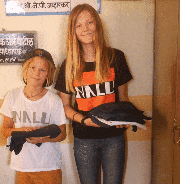 Finn and Dali from Nalu