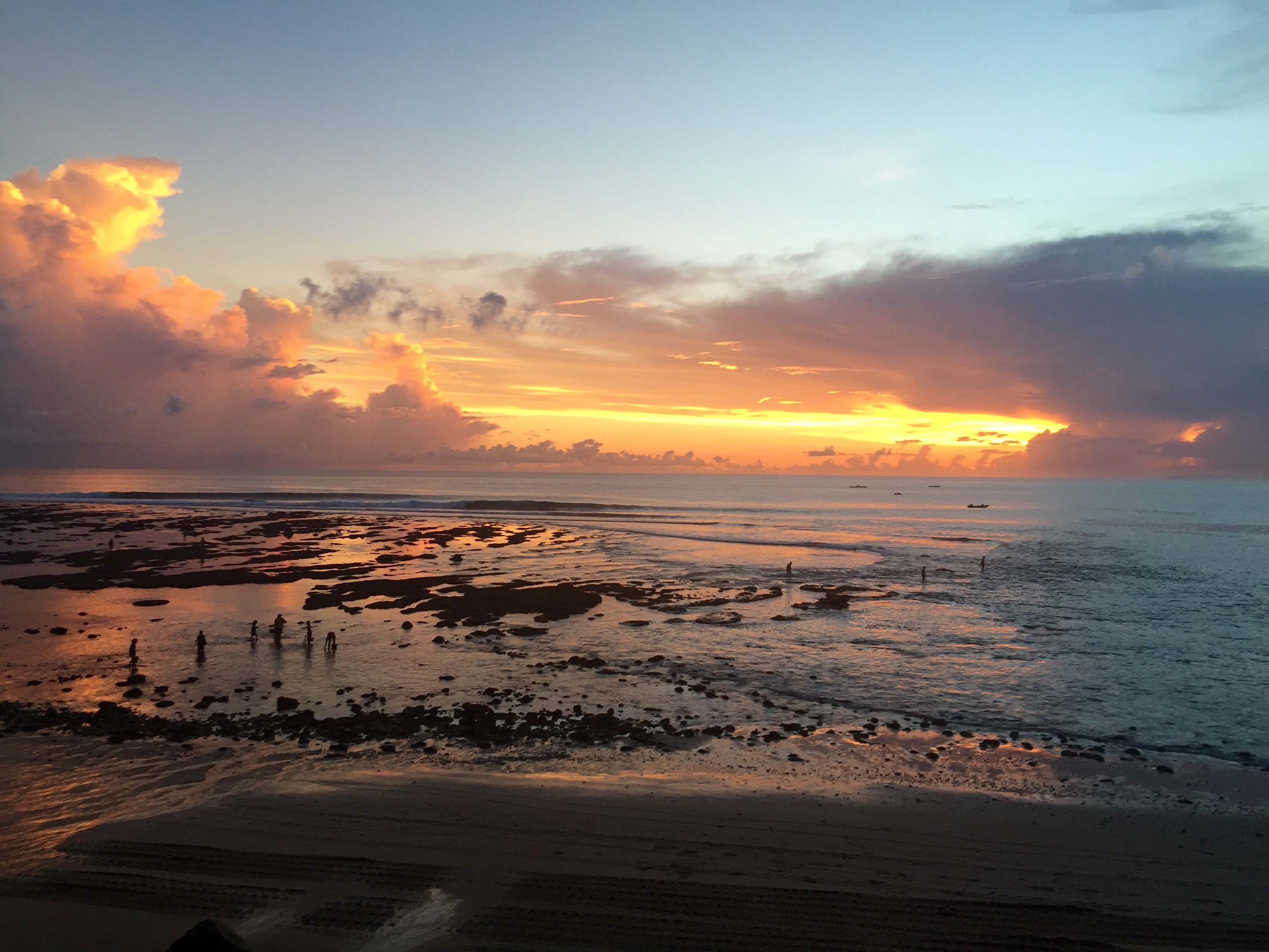 Sumba sunset at Nihiwatu