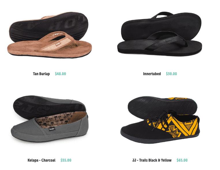 Indosole shoes