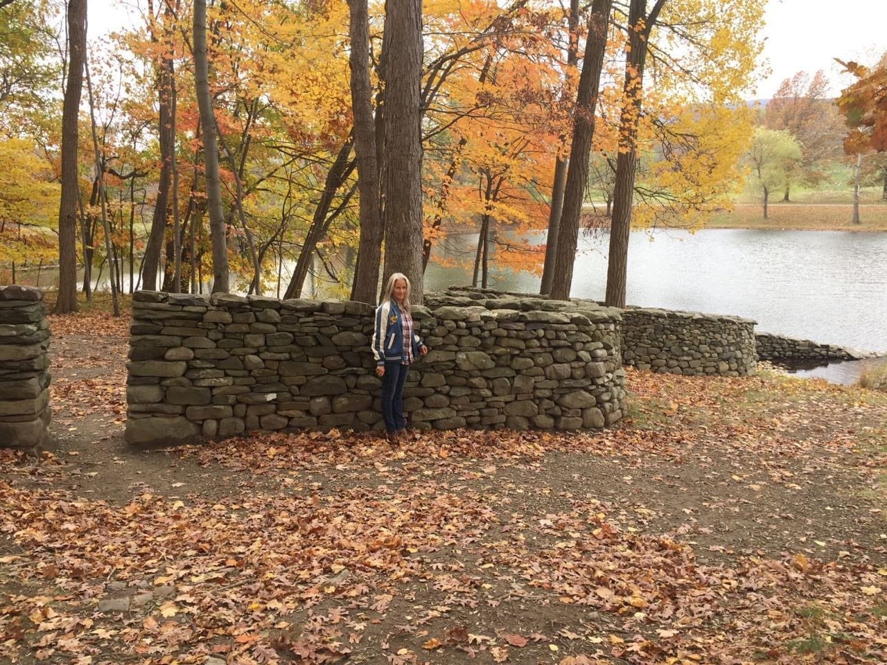 An Andy Goldsworthy sculpture in New York