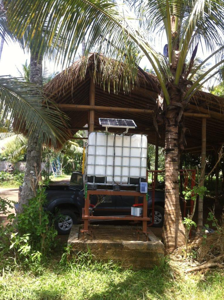 Green School biodiesel pump station