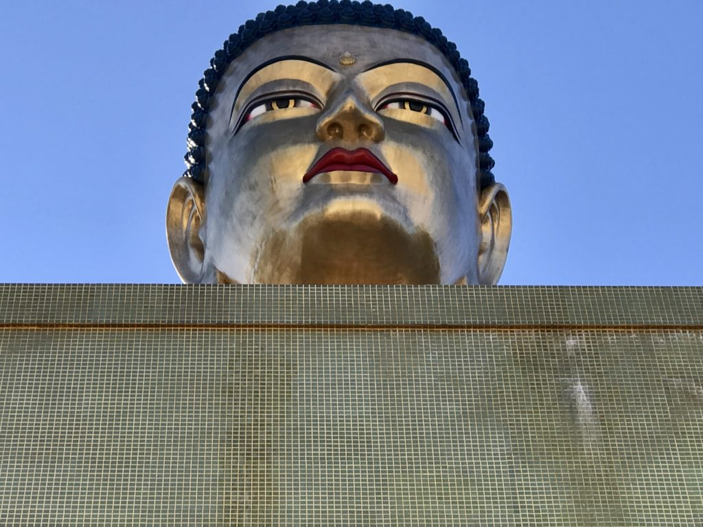 Buddha head in Butan