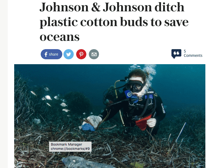 No more plastic cotton buds