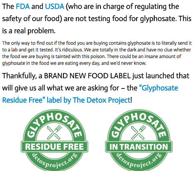 Monsanto on Food Babe Blog
