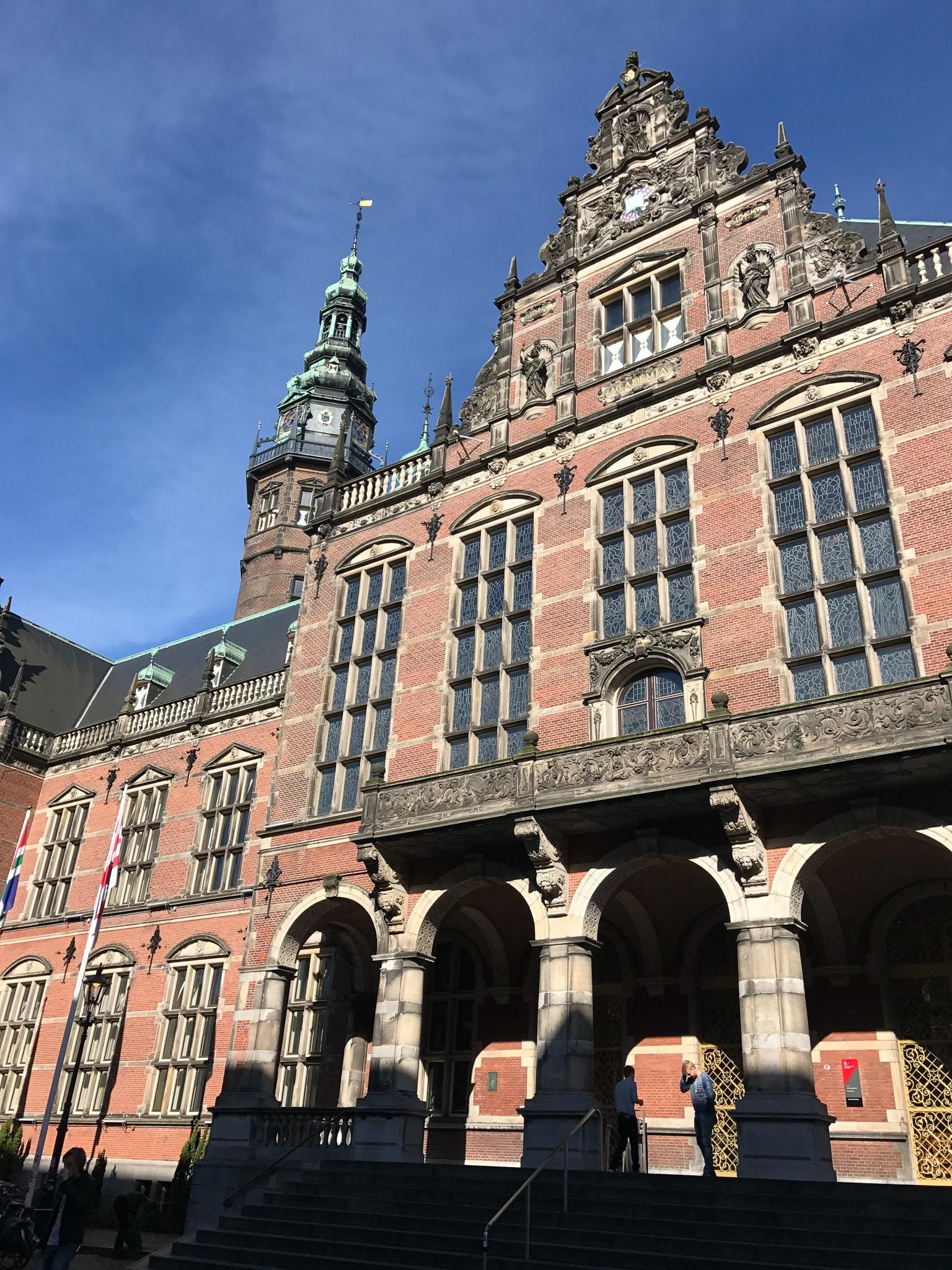 Dutch building facade