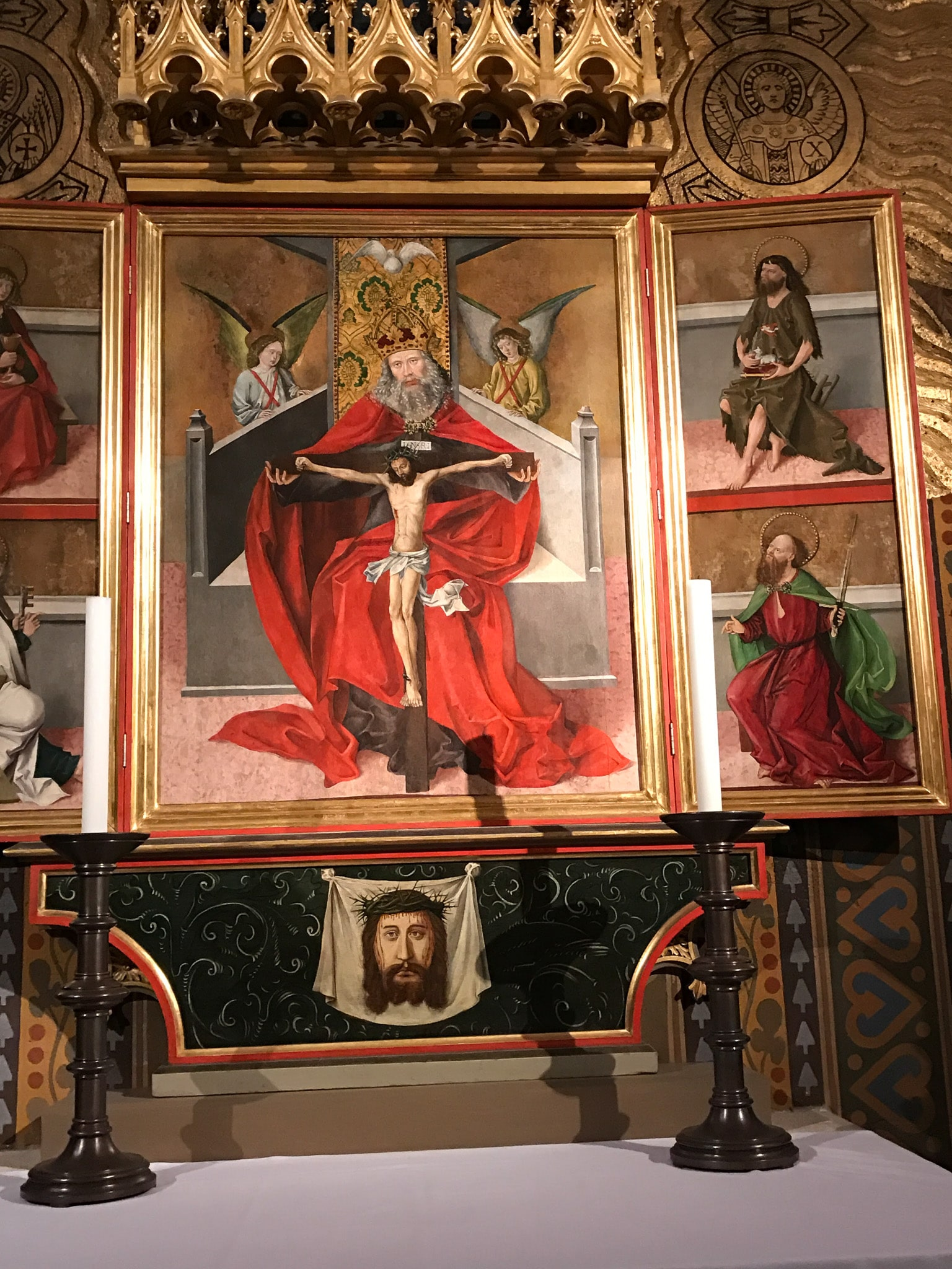 Jesus figure in Hungary