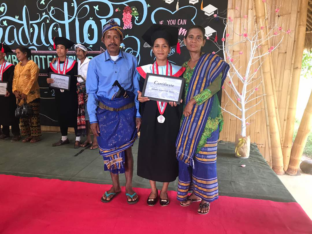 Sumba Hospitality Foundation graduate