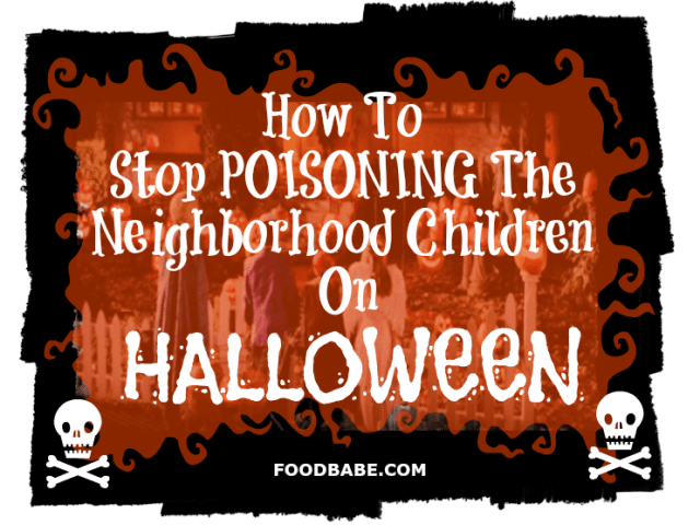 Dangers of Halloween candy
