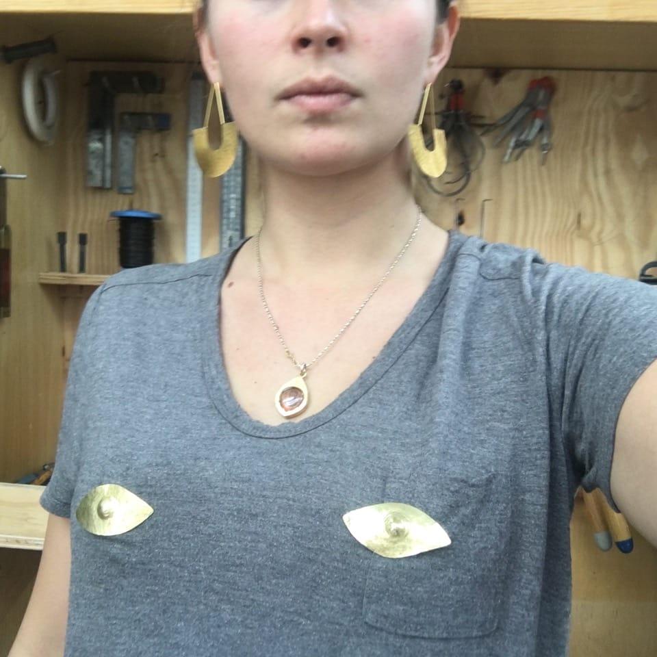 Ellpin nipple pins by Carina Hardy