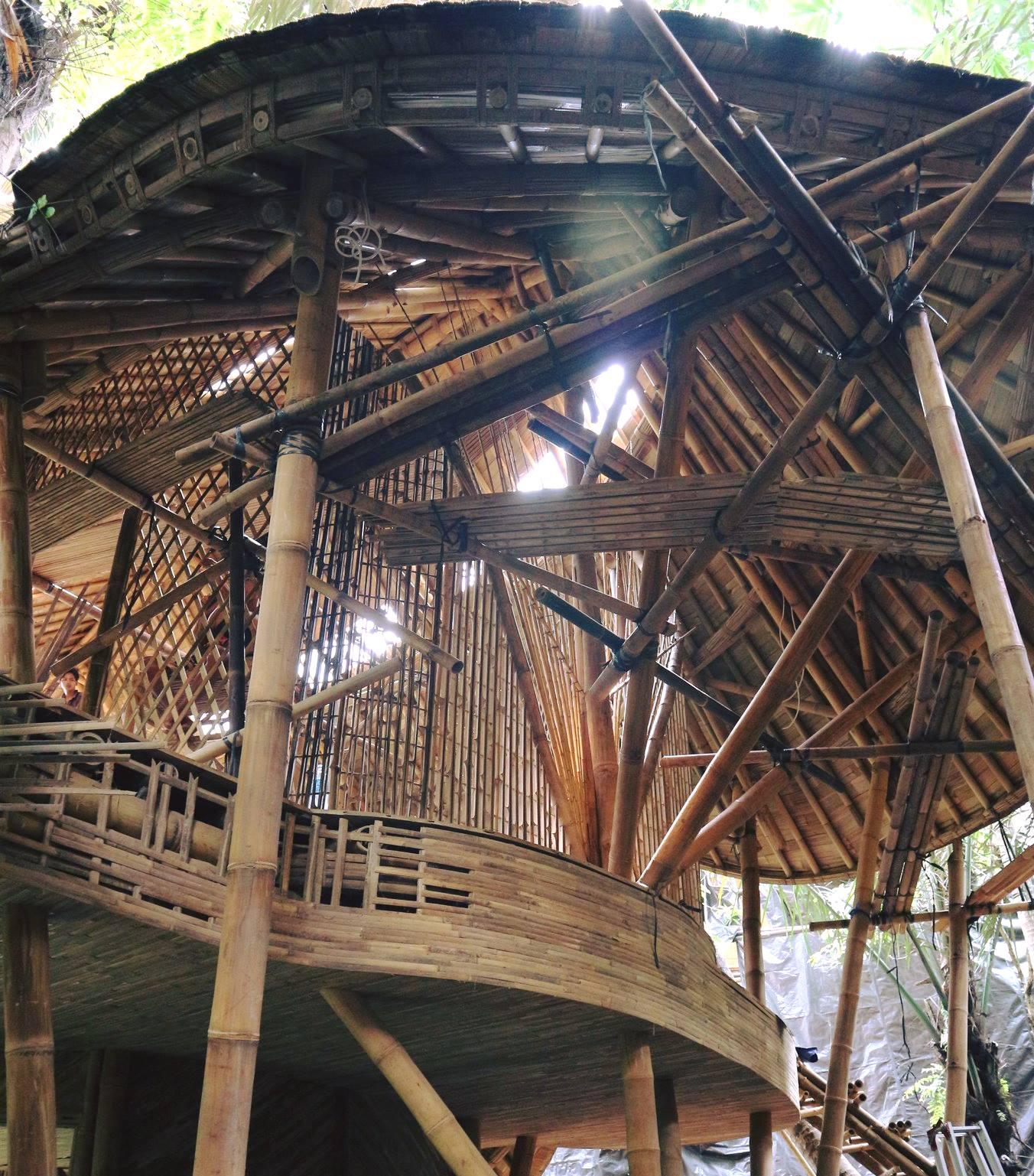 Last houses at Green Village Bali