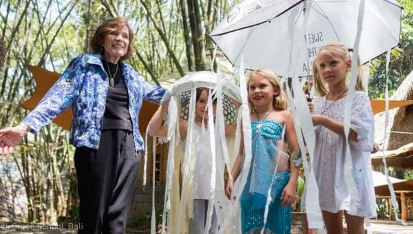 Dr Sylvia Earle at Green School